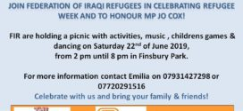 Join Federation of Iraqi Refugees in celebrating week!